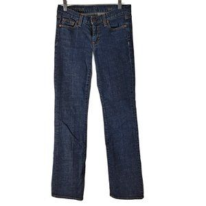 J.Crew dark wash bootcut jeans size 26R Made in US